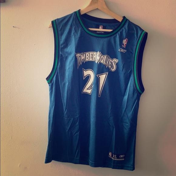 newest f8ca4 97fd9 Minnesota Timberwolves Kevin Garnett Jersey